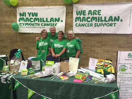 MacMillan Charity Work